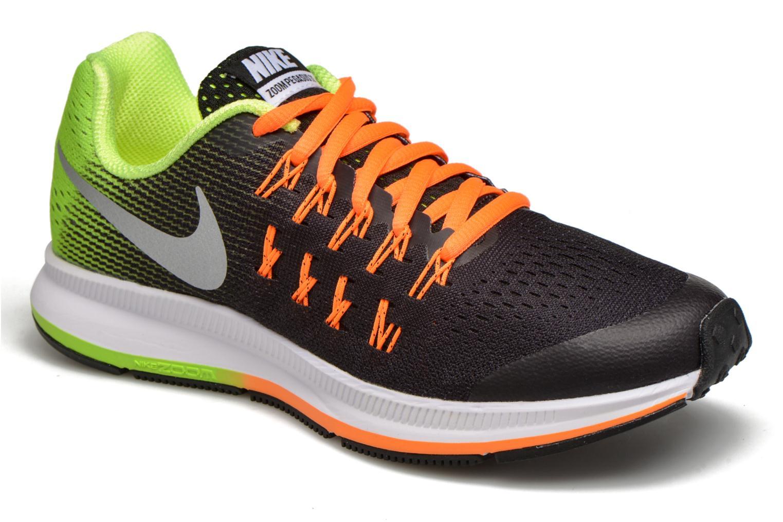 Deportivas Nike Nike Zoom Pegasus 33 (Gs) Negro vista de detalle / par