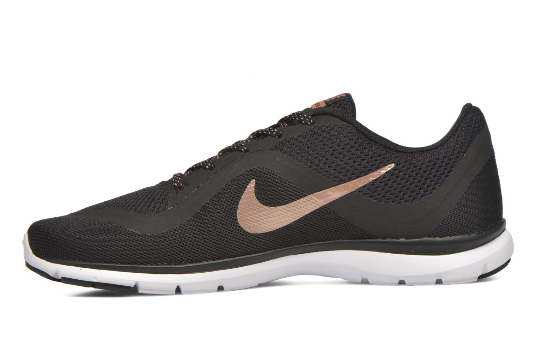 Sportschuhe Nike Wmns Nike Flex Trainer 6 schwarz ansicht von vorne