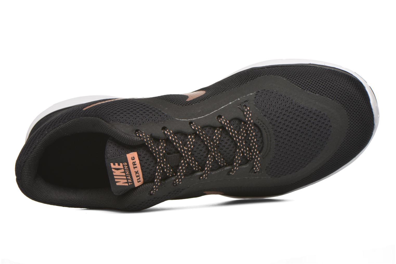 Chaussures de sport Nike Wmns Nike Flex Trainer 6 Noir vue gauche