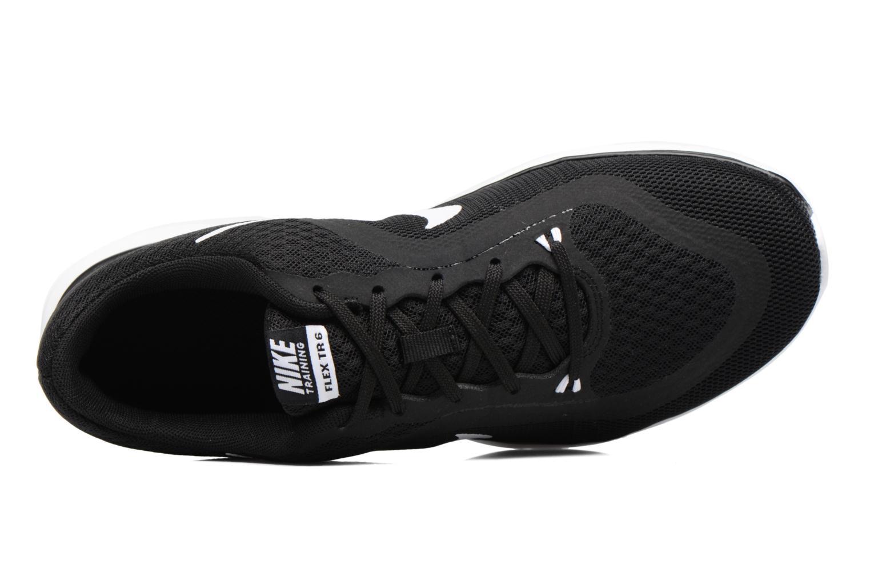 Sportschuhe Nike Wmns Nike Flex Trainer 6 schwarz ansicht von links