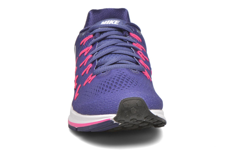 Chaussures de sport Nike Wmns Nike Air Zoom Pegasus 33 Violet vue portées chaussures