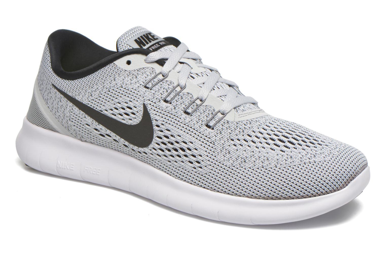Nike Free Rn White/black-pure platinum