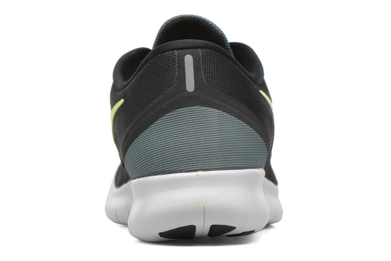 Nike Free Rn Black/Ghost Green-Hasta-Green Glow