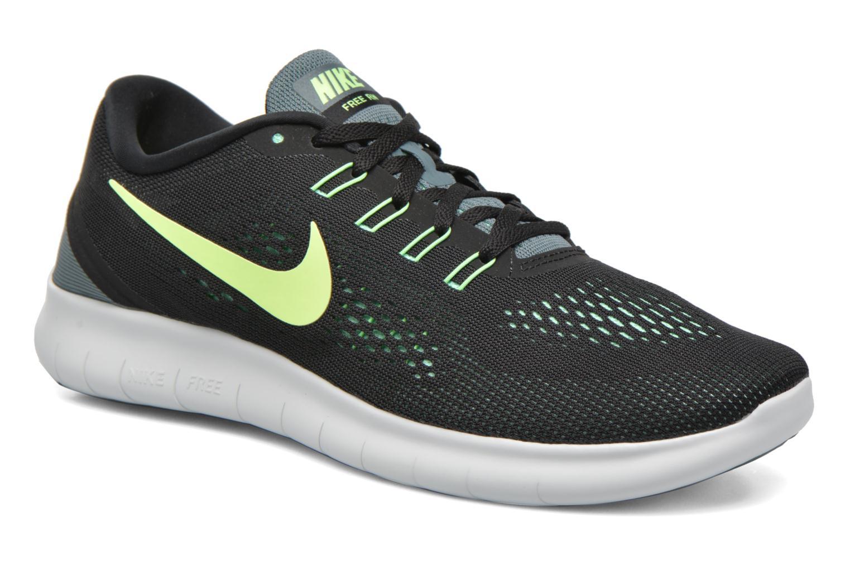 Chaussures de sport Nike Nike Free Rn Noir vue détail/paire