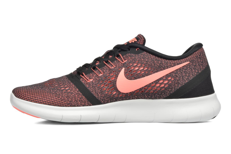 Chaussures de sport Nike Wmns Nike Free Rn Noir vue face