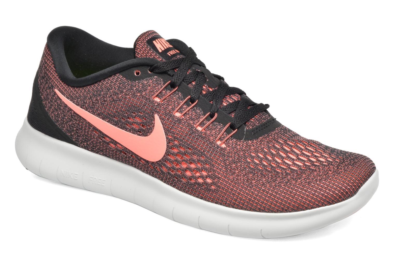 Chaussures de sport Nike Wmns Nike Free Rn Noir vue détail/paire