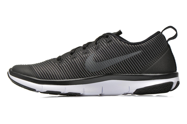 Sportschuhe Nike Nike Free Train Versatility schwarz ansicht von vorne