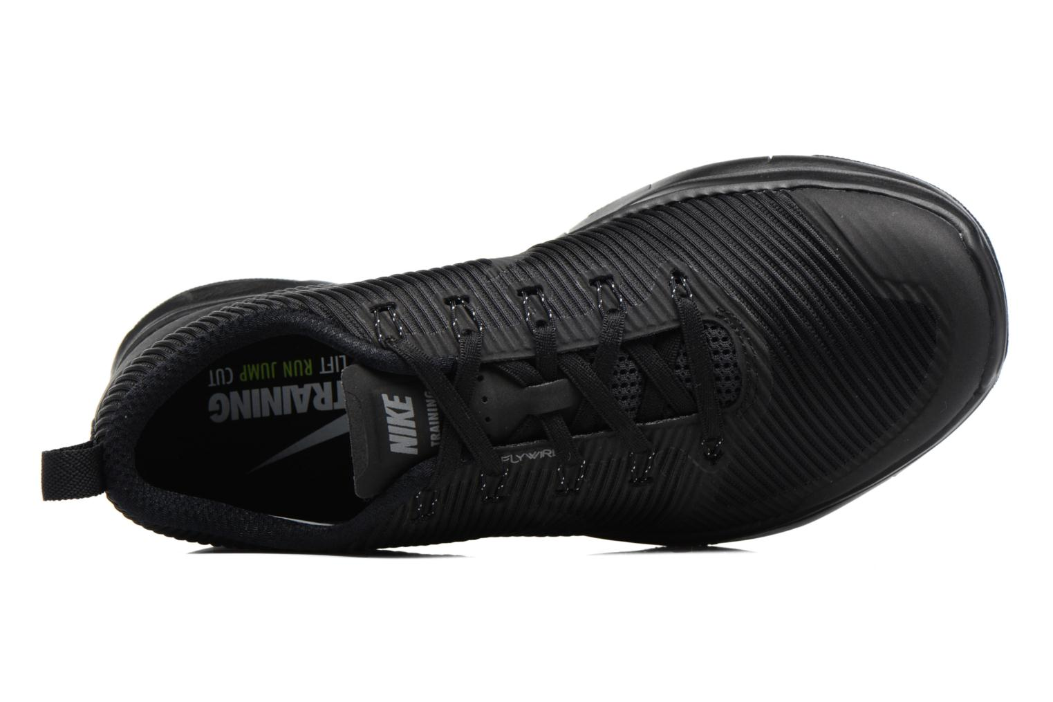 Sport shoes Nike Nike Free Train Versatility Black view from the left