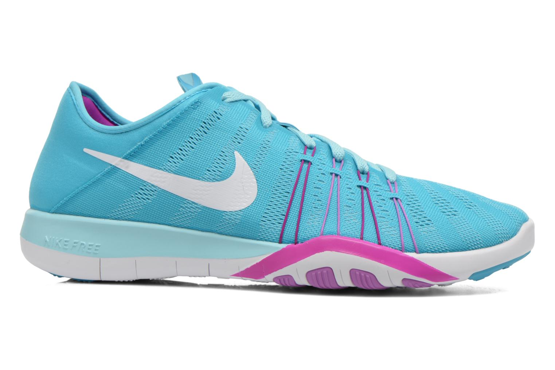 Wmns Nike Free Tr 6 Gmm Bl/White-Hypr Vlt-Fchs Glw