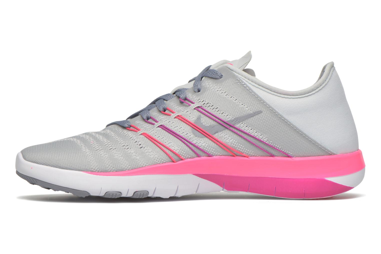 Chaussures de sport Nike Wmns Nike Free Tr 6 Gris vue face