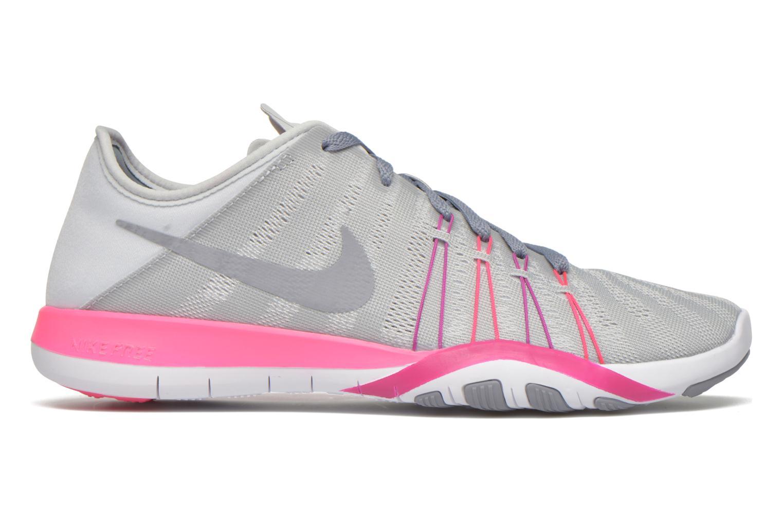Scarpe sportive Nike Wmns Nike Free Tr 6 Grigio immagine posteriore