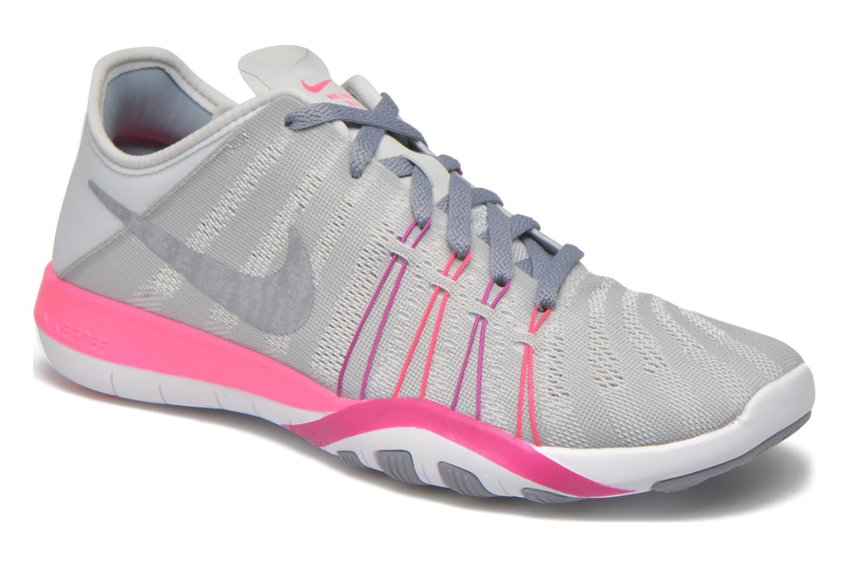 Sportssko Nike Wmns Nike Free Tr 6 Grå detaljeret billede af skoene