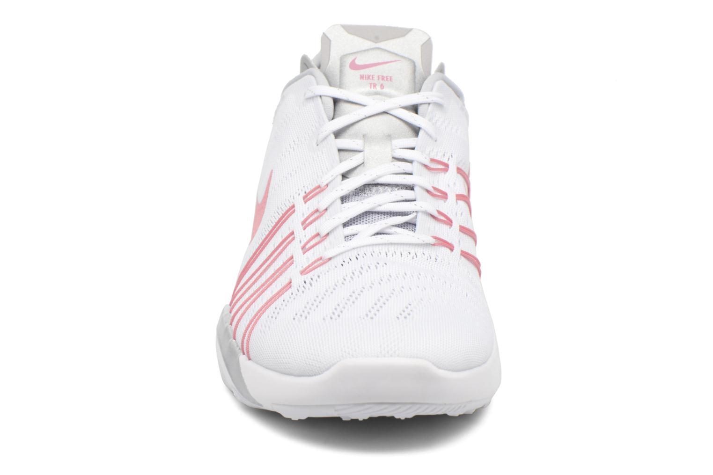 Chaussures de sport Nike Wmns Nike Free Tr 6 Blanc vue portées chaussures