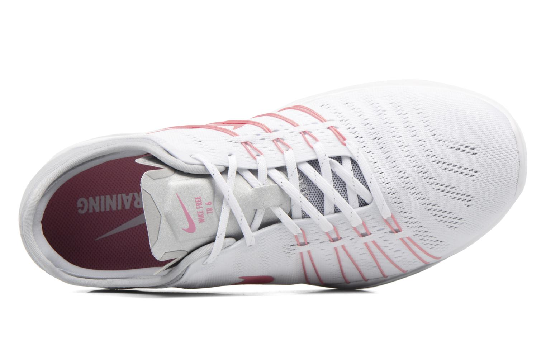 Scarpe sportive Nike Wmns Nike Free Tr 6 Bianco immagine sinistra
