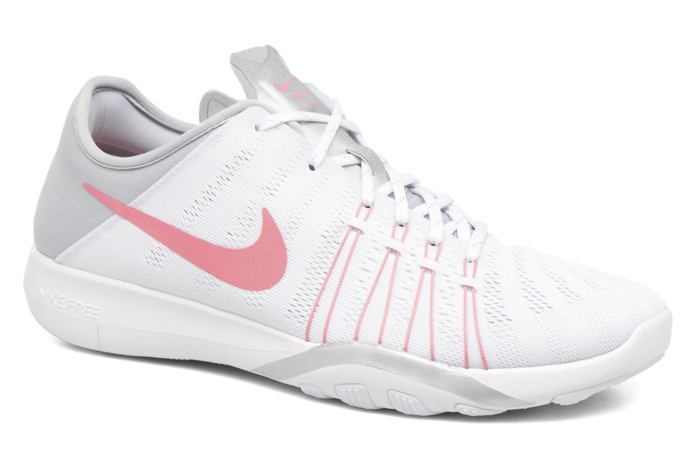 Chaussures de sport Nike Wmns Nike Free Tr 6 Blanc vue détail/paire