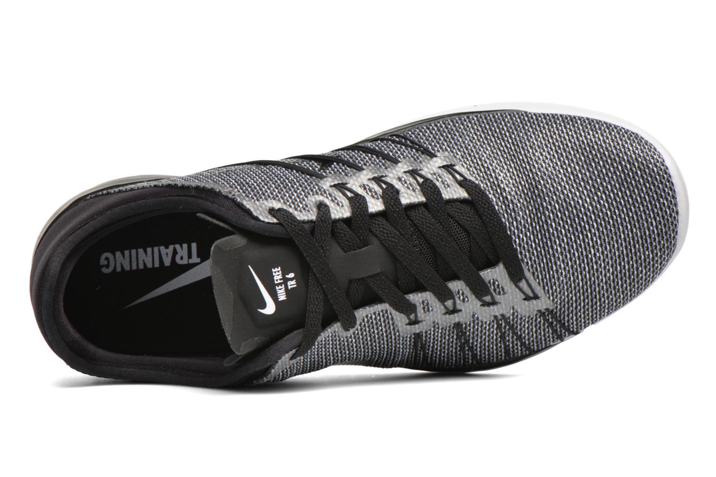 Chaussures de sport Nike Wmns Nike Free Tr 6 Prt Noir vue gauche