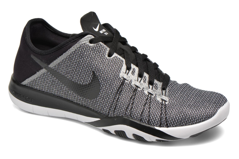 Chaussures de sport Nike Wmns Nike Free Tr 6 Prt Noir vue détail/paire