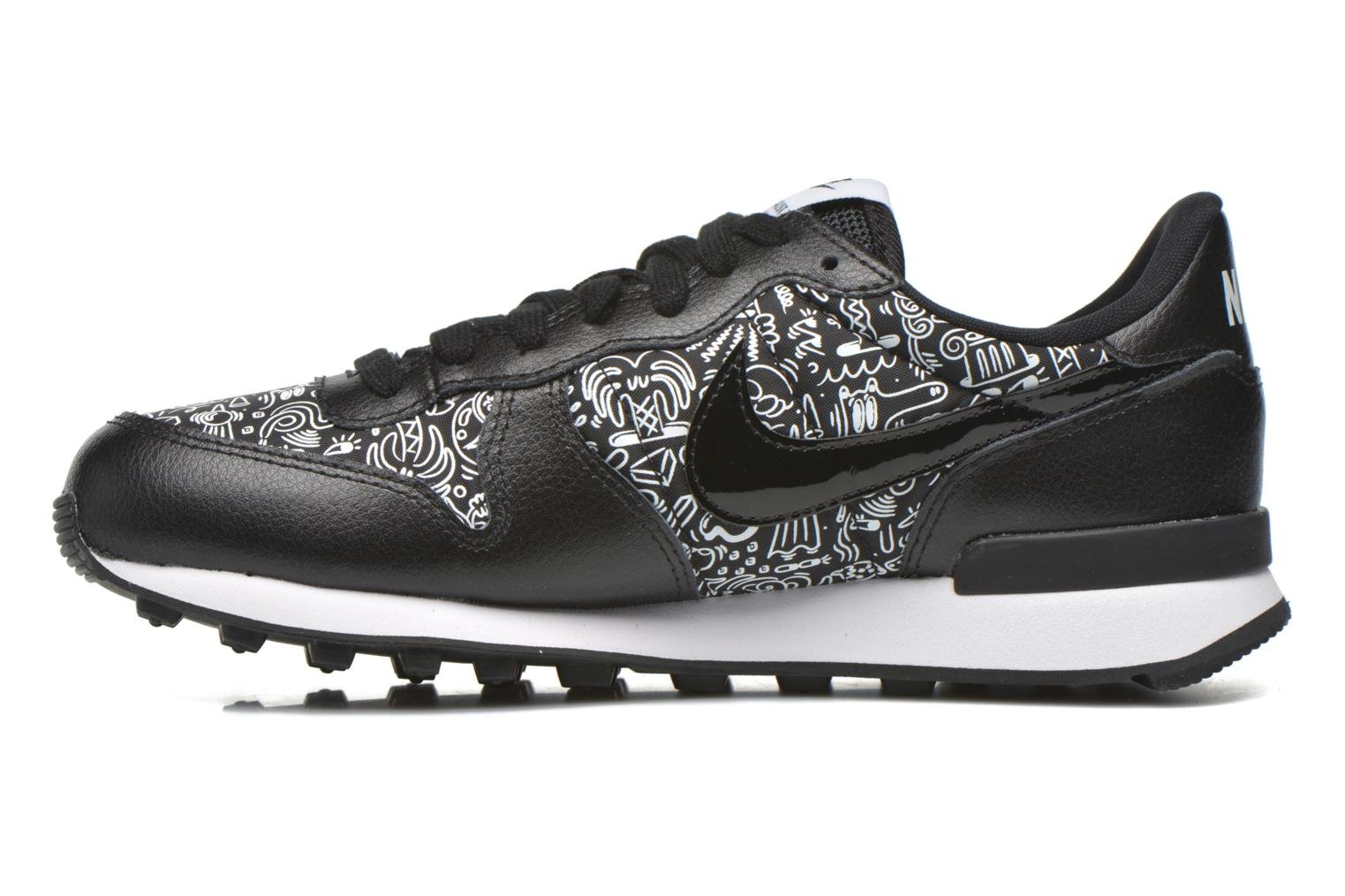 Baskets Nike W Internationalist Print Noir vue face