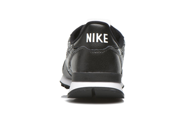 Baskets Nike W Internationalist Print Noir vue droite