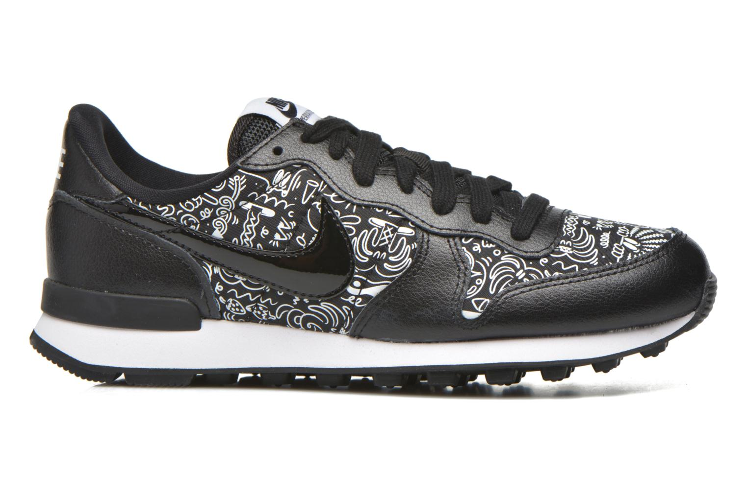 Baskets Nike W Internationalist Print Noir vue derrière