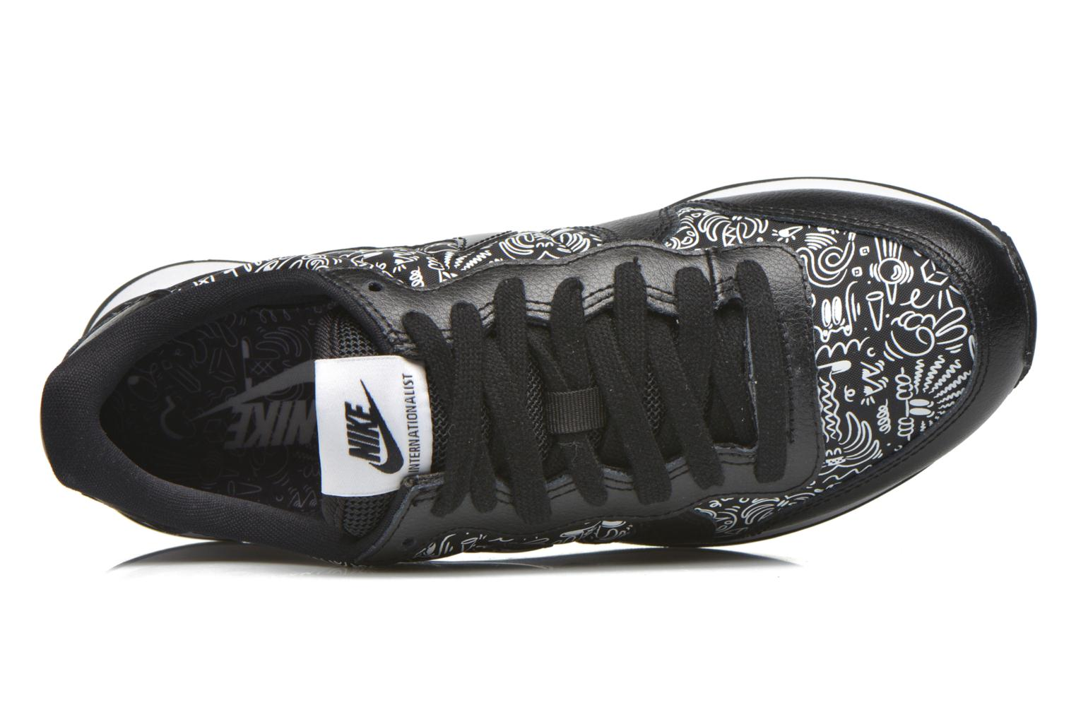 Baskets Nike W Internationalist Print Noir vue gauche