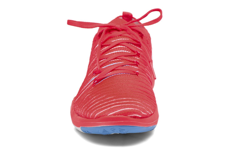 Chaussures de sport Nike Wm Nike Free Transform Flyknit Orange vue portées chaussures