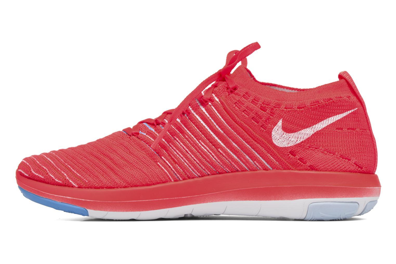 Chaussures de sport Nike Wm Nike Free Transform Flyknit Orange vue face