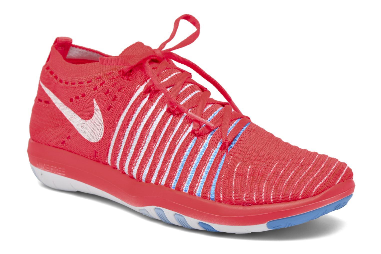 Chaussures de sport Nike Wm Nike Free Transform Flyknit Orange vue détail/paire