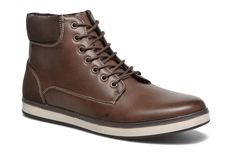 Baskets I Love Shoes SUPERENT Marron vue détail/paire