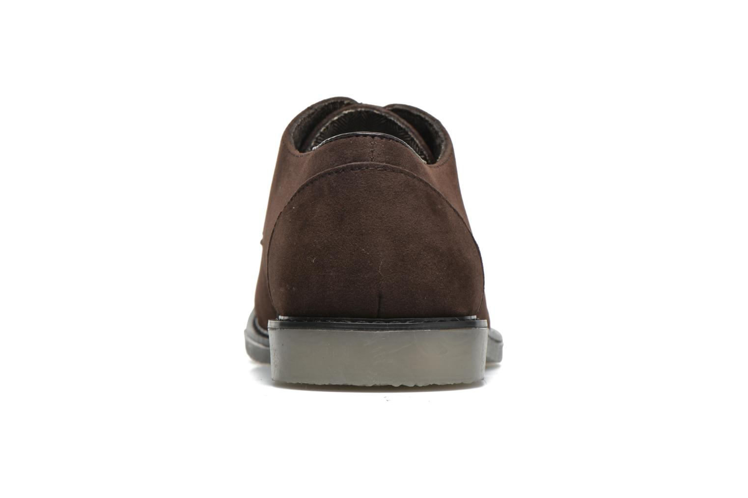 Lace-up shoes I Love Shoes SUPERBES Brown view from the right