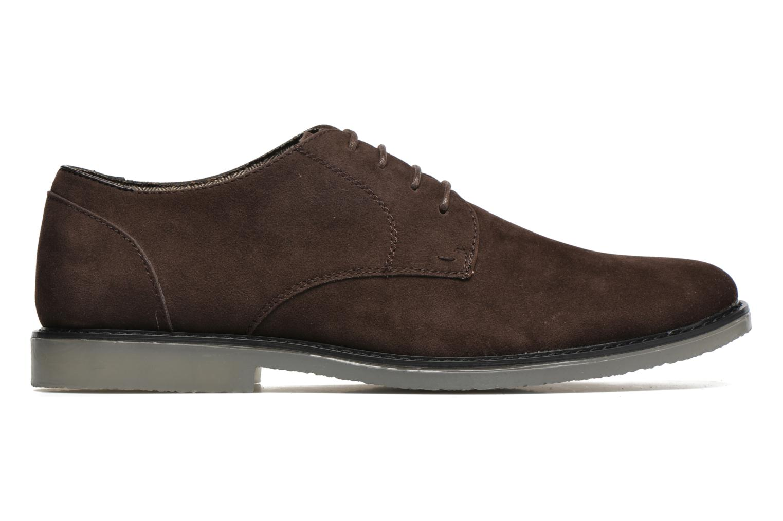 Lace-up shoes I Love Shoes SUPERBES Brown back view
