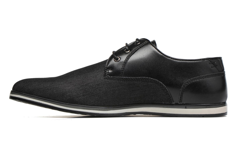 Lace-up shoes I Love Shoes SUPERAS Black front view