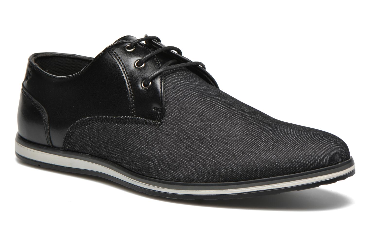 Lace-up shoes I Love Shoes SUPERAS Black detailed view/ Pair view