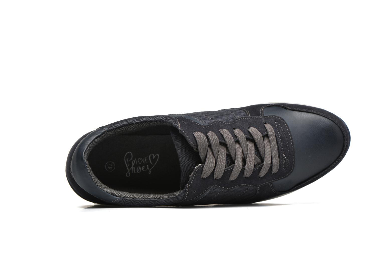 Sneaker I Love Shoes SUPERVISE blau ansicht von links