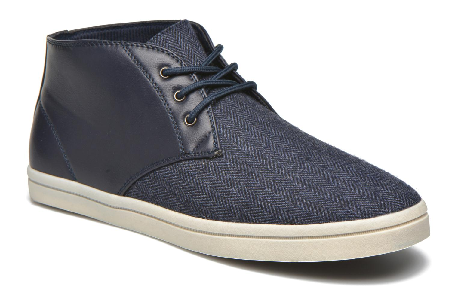 Trainers I Love Shoes SUPEVRON Blue detailed view/ Pair view