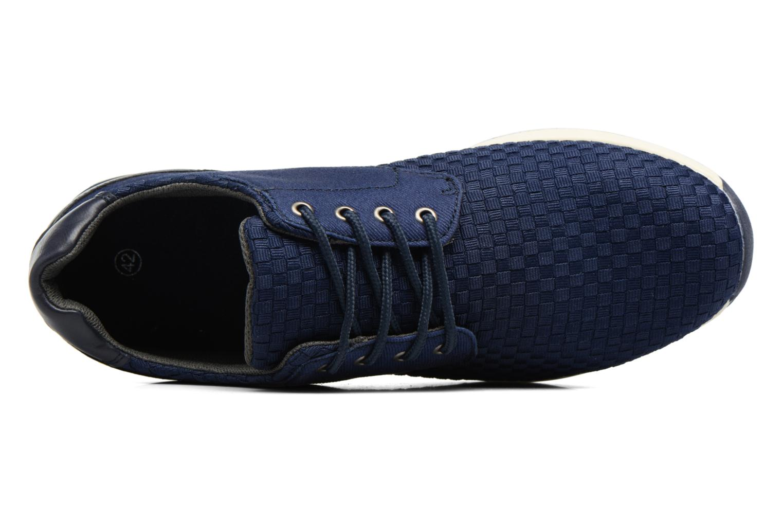 Baskets I Love Shoes SUPELIRE Bleu vue gauche