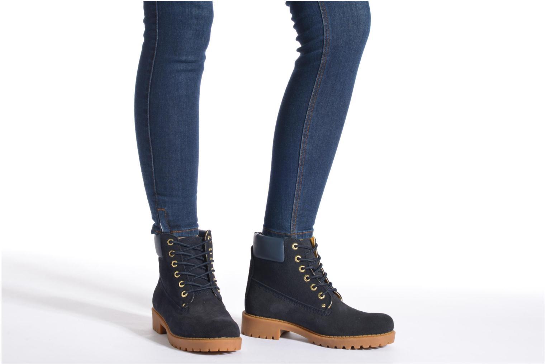 Chaussures à lacets Xti Isia-30029 Marron vue bas / vue portée sac