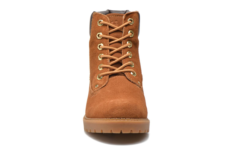 Chaussures à lacets Xti Isia-30029 Marron vue portées chaussures