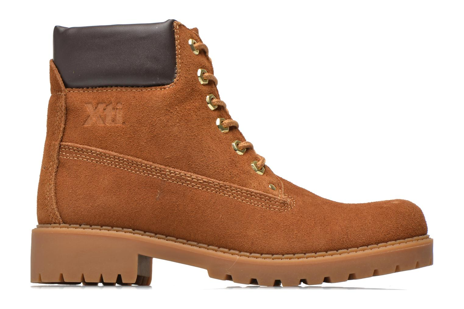 Lace-up shoes Xti Isia-30029 Brown back view