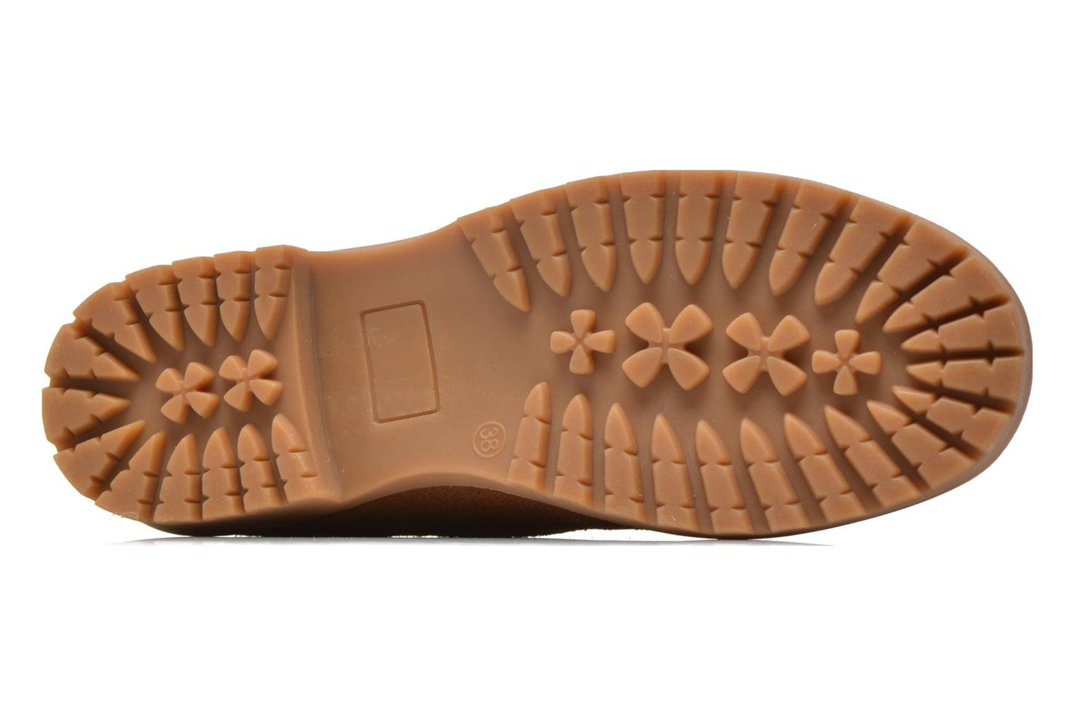 Lace-up shoes Xti Isia-30029 Brown view from above