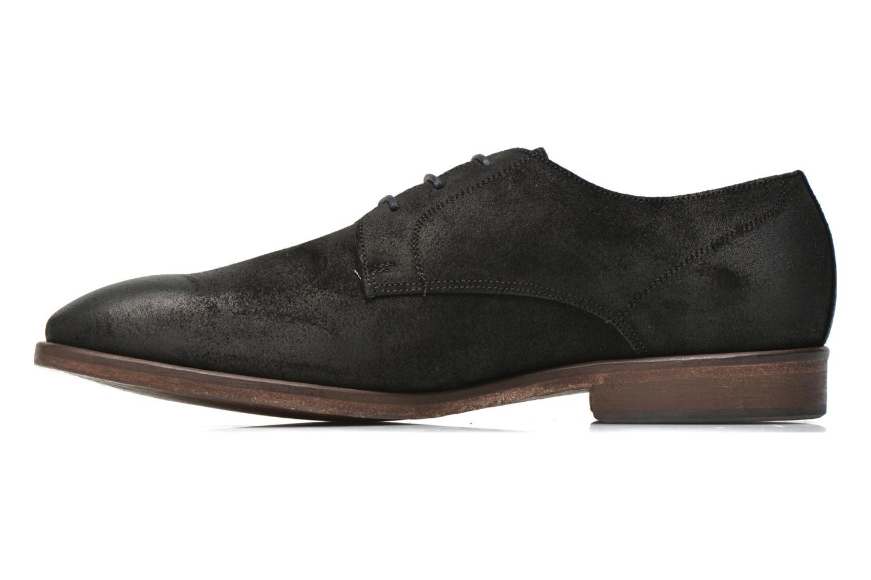 Zapatos con cordones Kost Katman Negro vista de frente