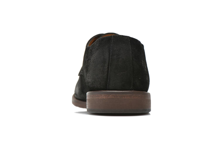 Zapatos con cordones Kost Katman Negro vista lateral derecha