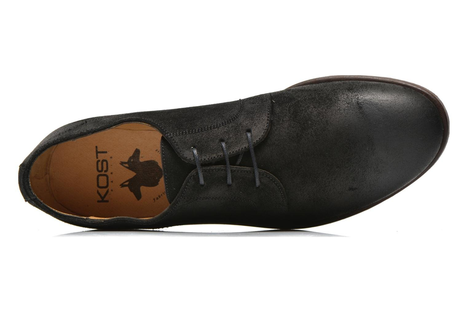 Lace-up shoes Kost Katman Black view from the left