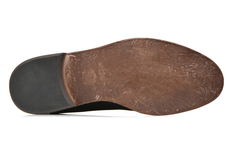 Chaussures à lacets Kost Katman Noir vue haut