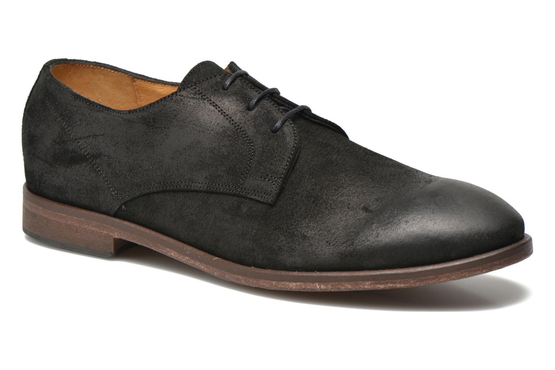 Chaussures à lacets Kost Katman Noir vue détail/paire