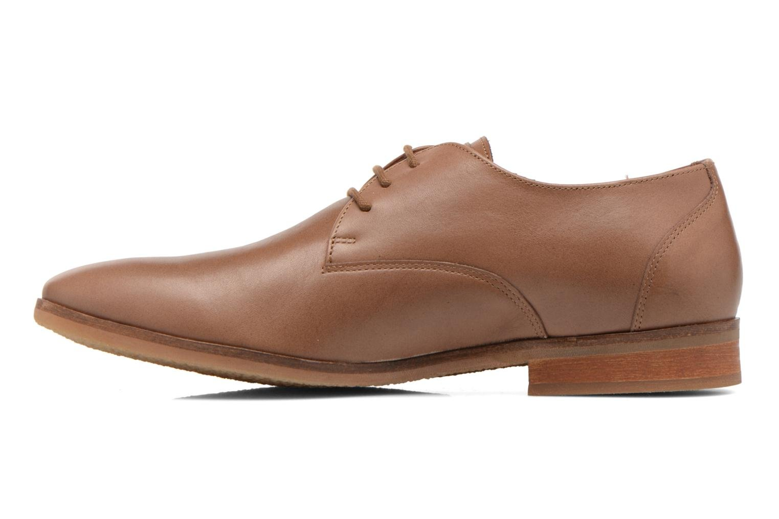 Lace-up shoes Kost Koros/K Brown front view