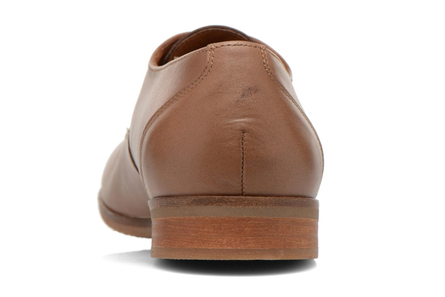 Lace-up shoes Kost Koros/K Brown view from the right