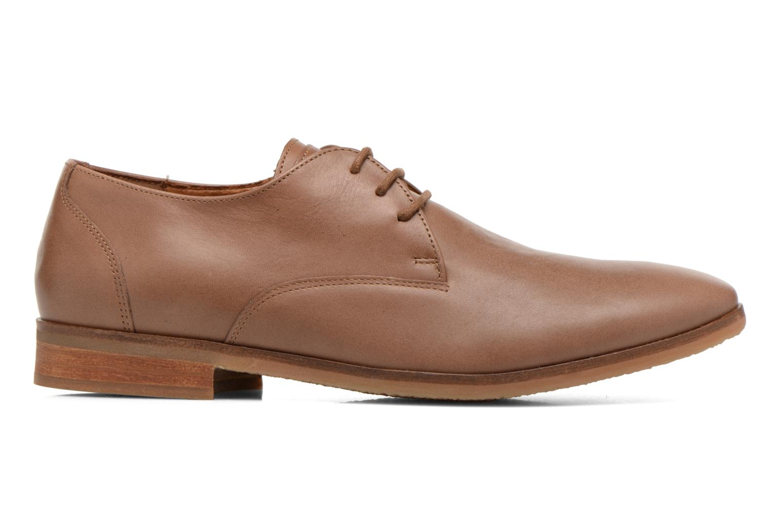 Lace-up shoes Kost Koros/K Brown back view