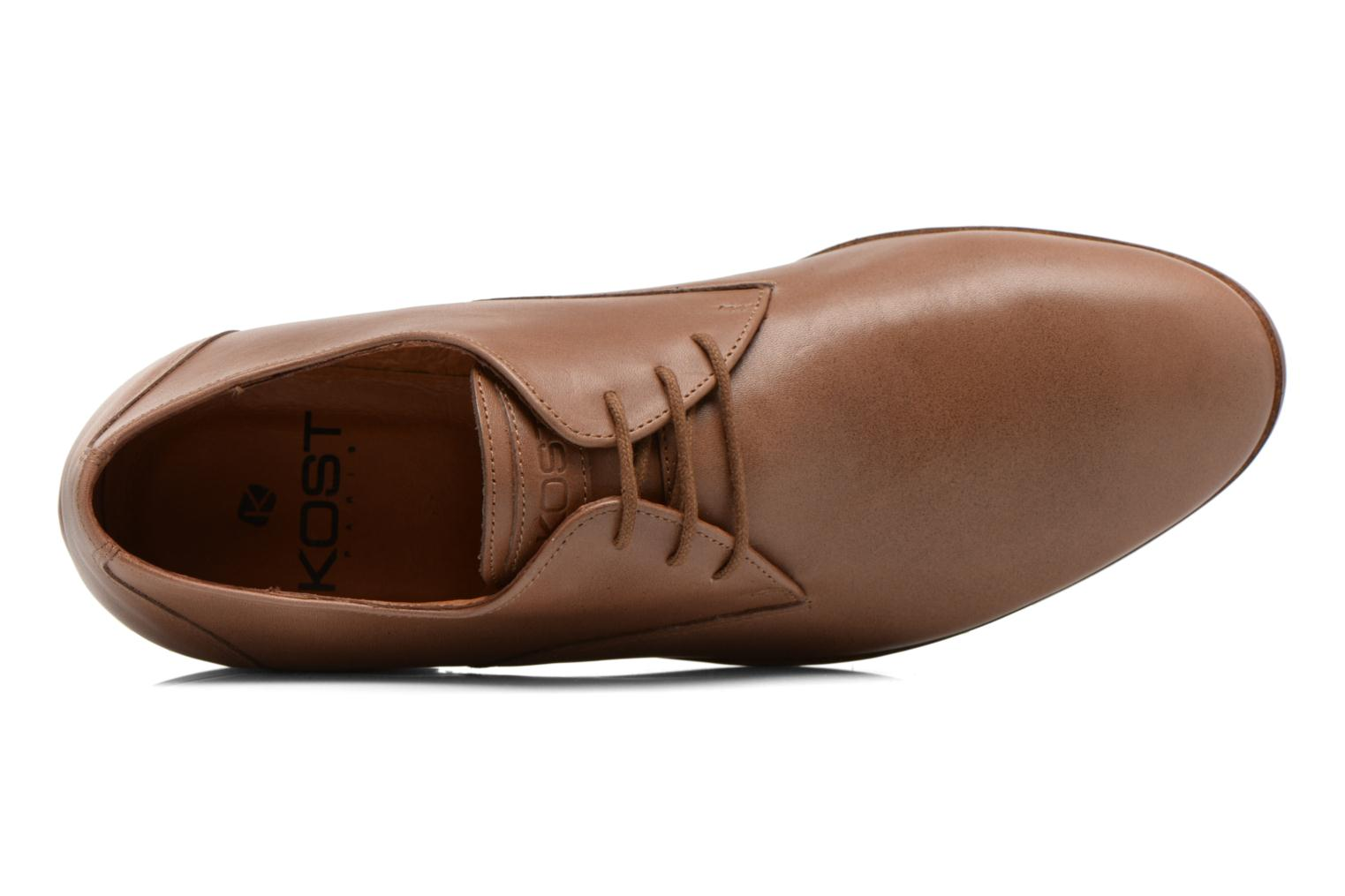 Lace-up shoes Kost Koros/K Brown view from the left