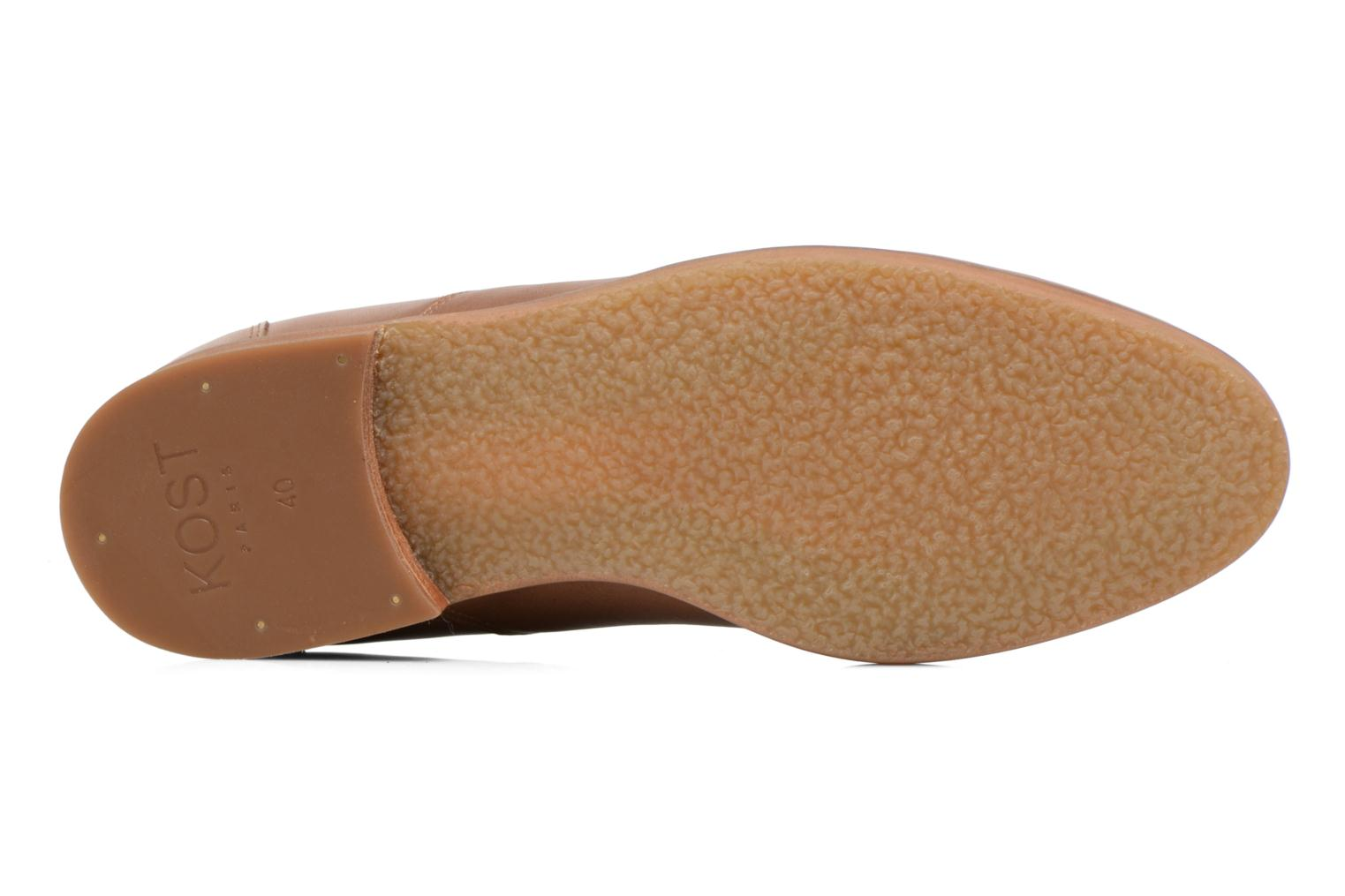 Lace-up shoes Kost Koros/K Brown view from above